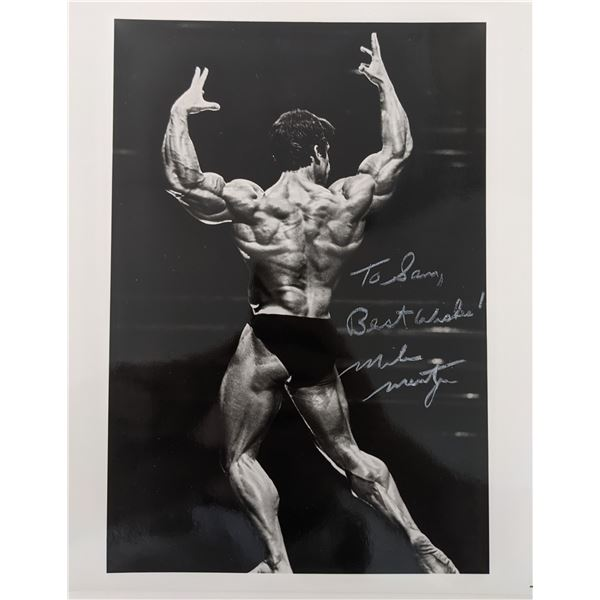 Mike Mentzer Signed Photo