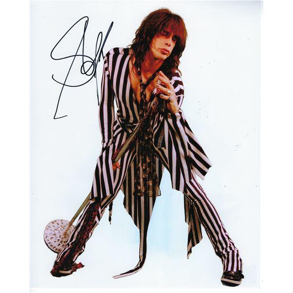 Steven Tyler signed Aerosmith photo