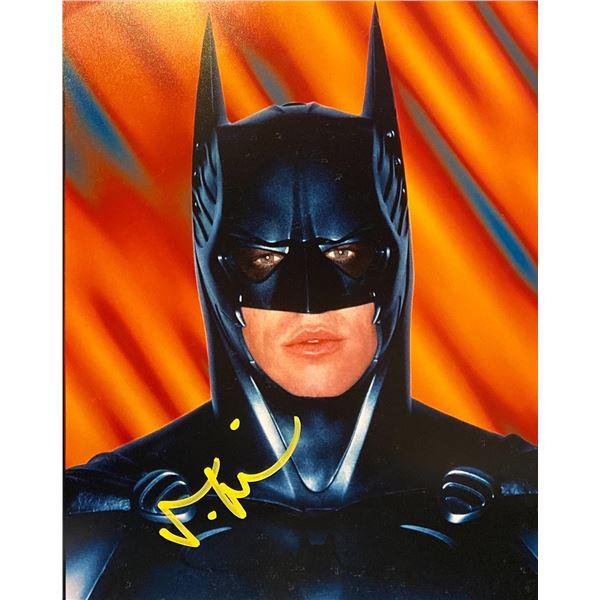 Batman Forever Val Kilmer Signed Photo