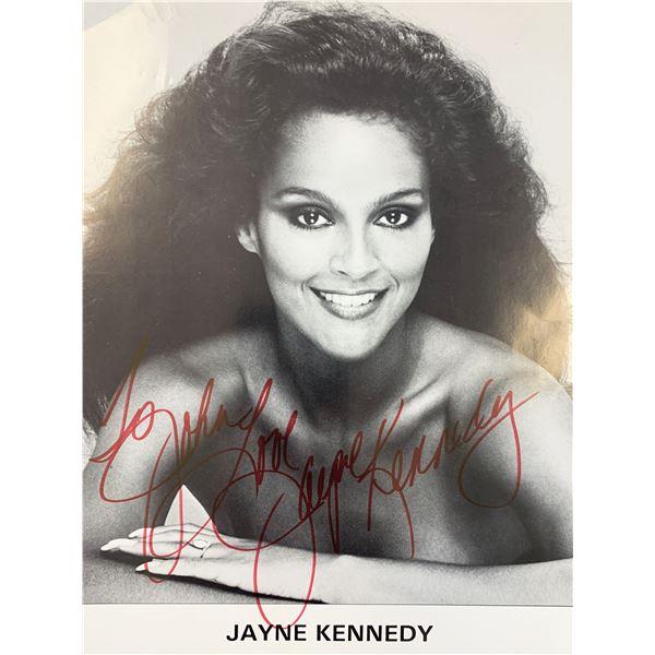 Police Woman Jayne Kennedy signed photo
