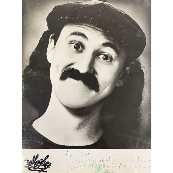 Comedian Gallagher signed photo