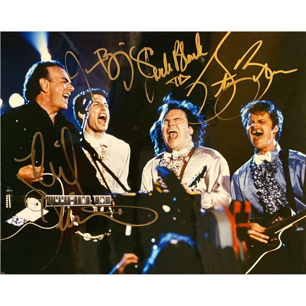 Saving Silverman cast signed movie photo