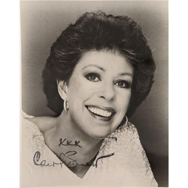Carol Burnett Signed Photo