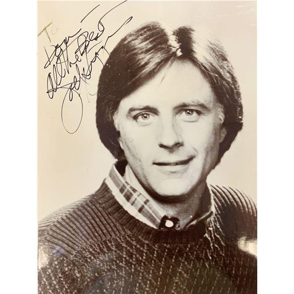 Joel Higgins Silver Spoons signed photo