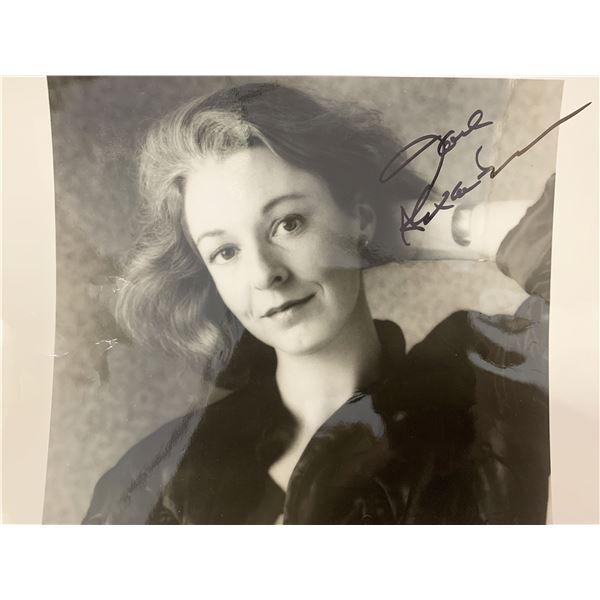 Jane Alexander signed photo