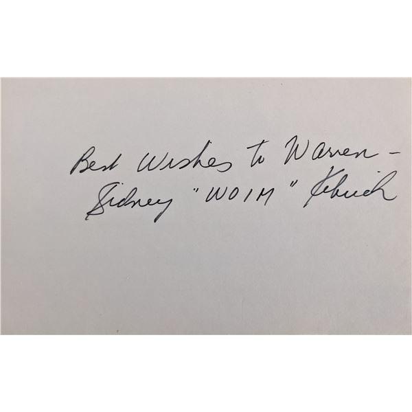 Our Gang Sidney Woim Kibrick Signature Cut