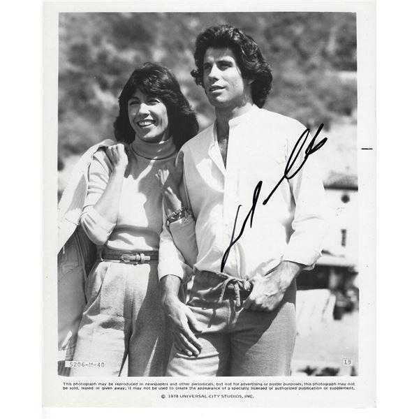 John Travolta Signed Photo