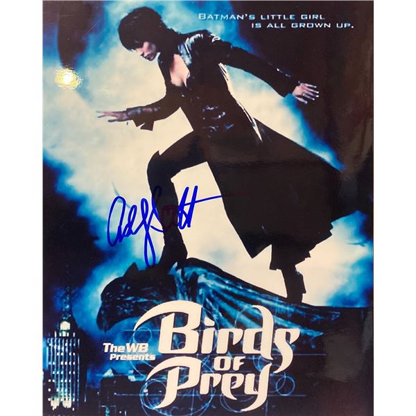 Birds of Prey Ashley Scott signed photo