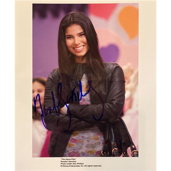 The Game Plan Roselyn Sánchez signed movie photo