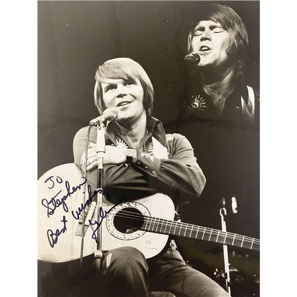 Country Singer Glenn Campbell signed photo