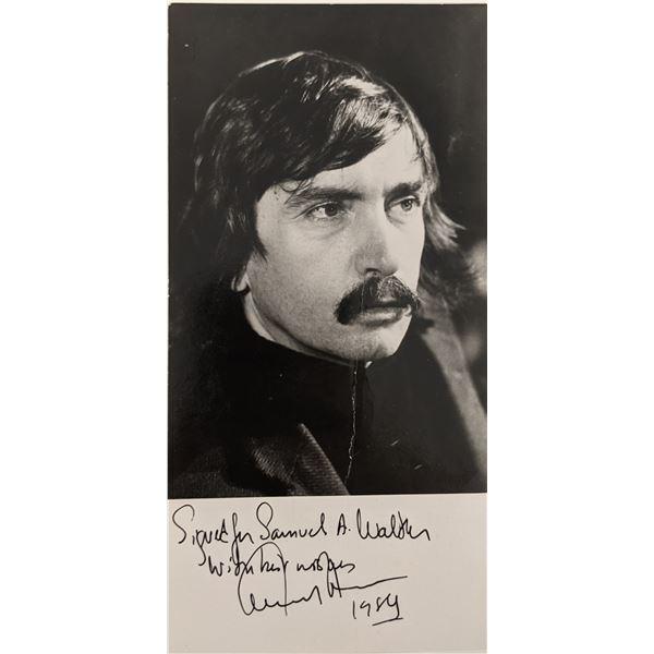 Edward Albee Signed Photo