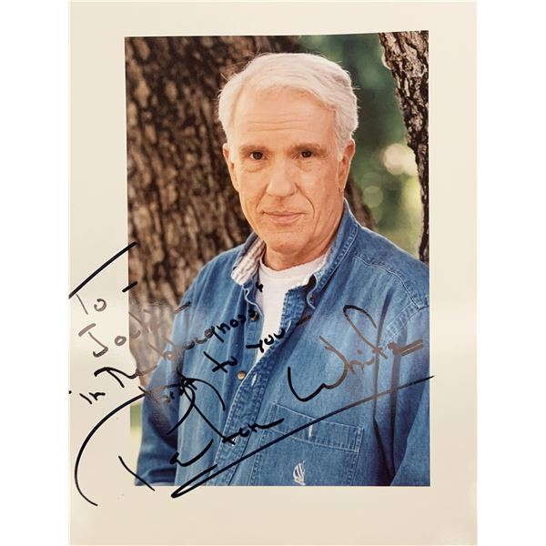 Peter White signed photo