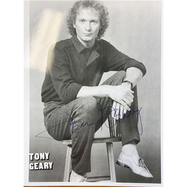 Tony Geary signed photo