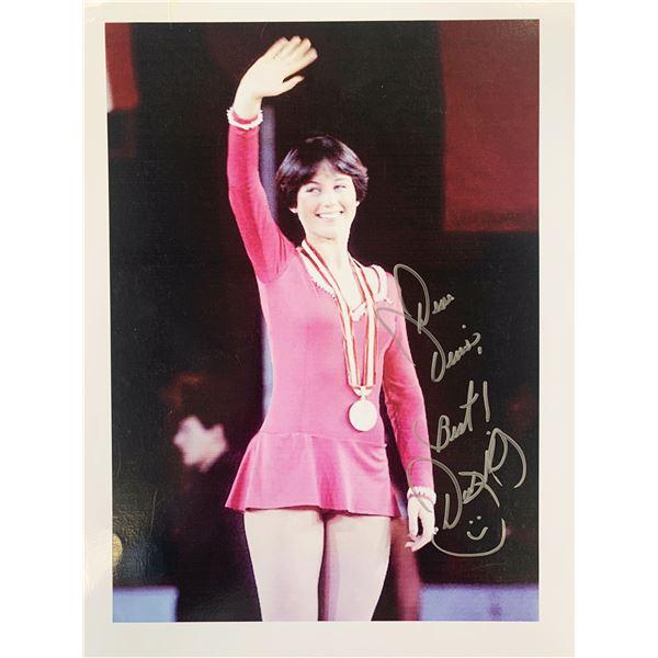 Dorothy Hamill signed photo