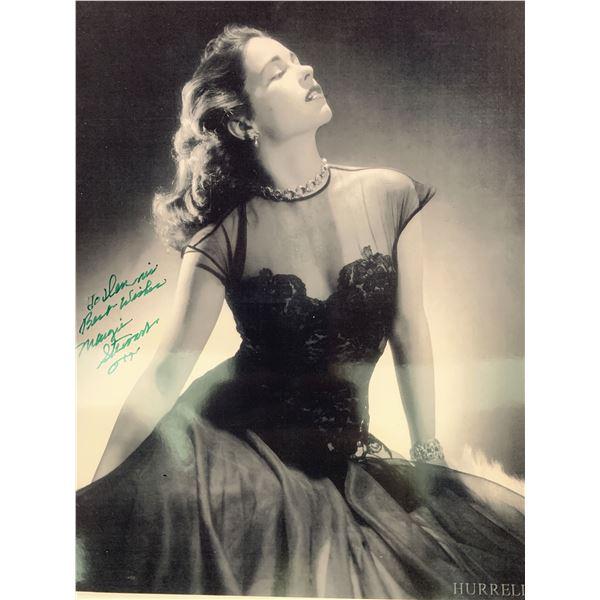 Margie Stewart signed photo