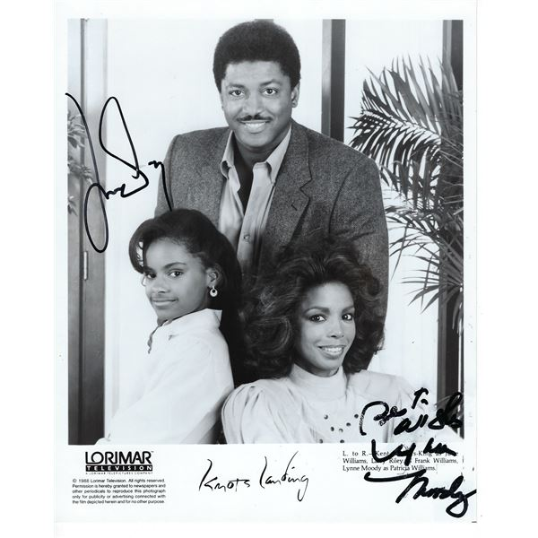 June Williams and Lynne Moody Signed Photo