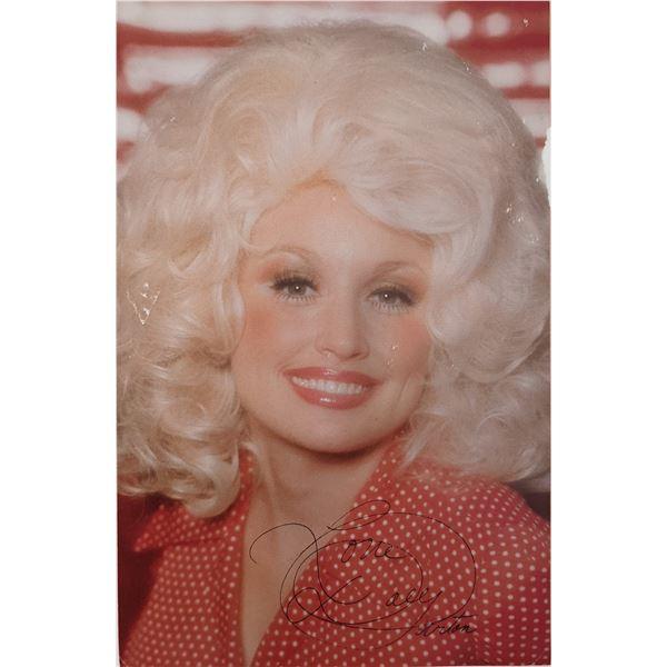 Dolly Parton facsimile Signed Photo