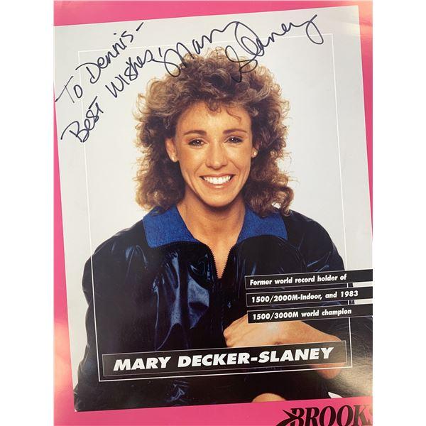 Mary Decker- Slaney signed photo