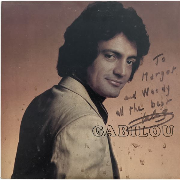 Jean Gabilou Signed Gabilou Album