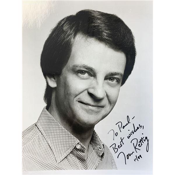 Tom Rettig signed photo