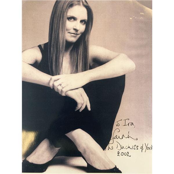 Sarah Ferguson Duchess of York signed photo