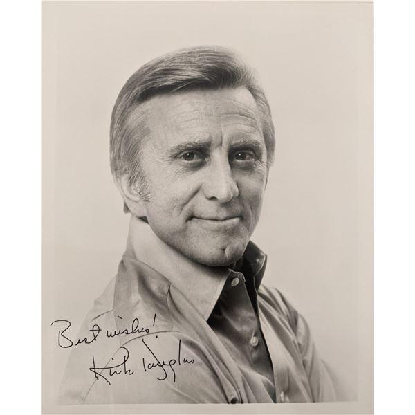 Kirk Douglas Signed Photo
