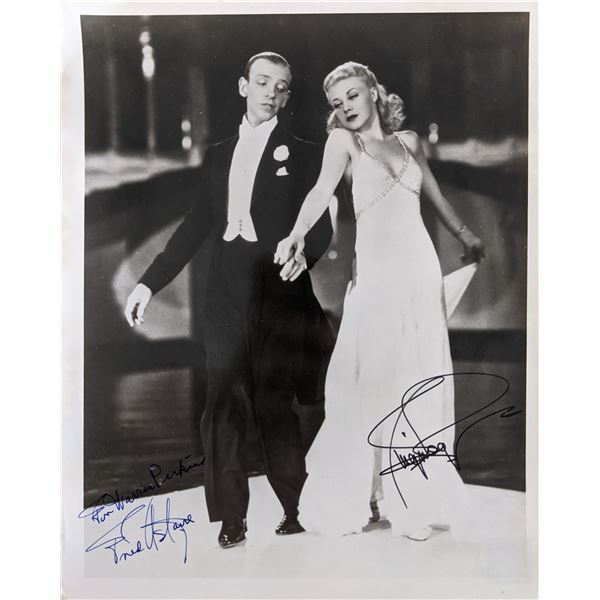 Fred Astaire and Ginger Rogers Signed Photo