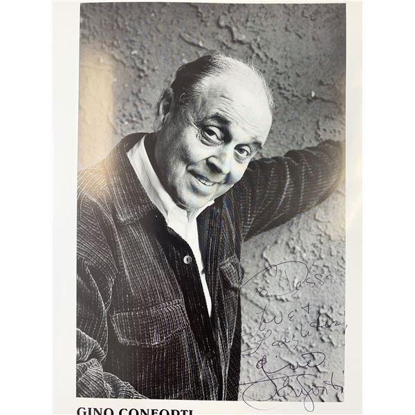 Gino Conforti signed photo