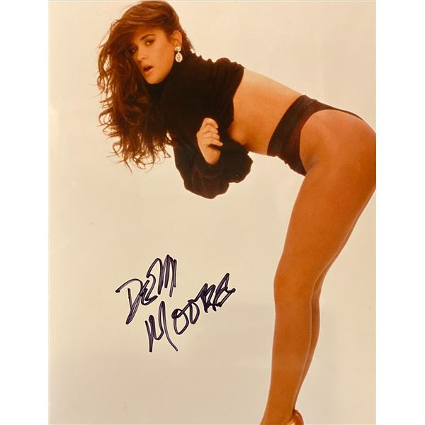 Demi Moore Signed Photo