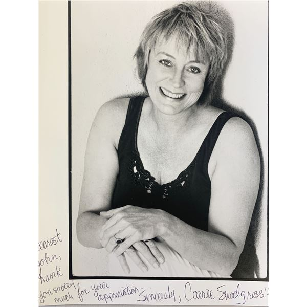 Carrie Snodgress signed photo