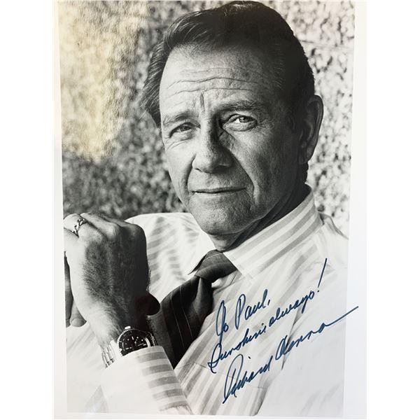 Richard Crenna signed photo