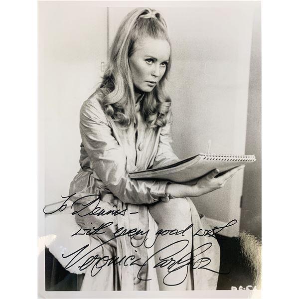 Veronica Carlson signed photo