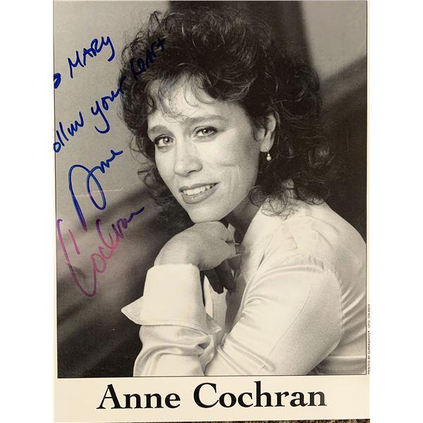 Anne Cochran signed photo