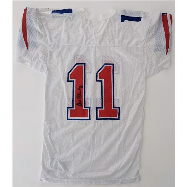 New England Patriots Drew Bledsoe signed jersey