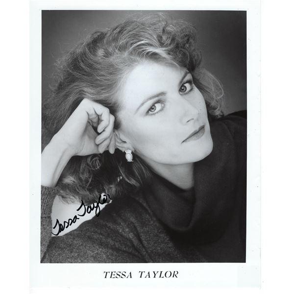 Tessa Taylor Signed Photo