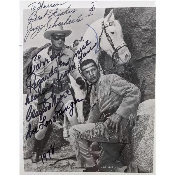 Lone Ranger Signed Photo