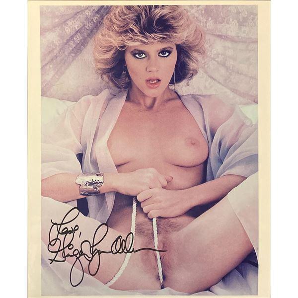 Ginger Lynn signed photo