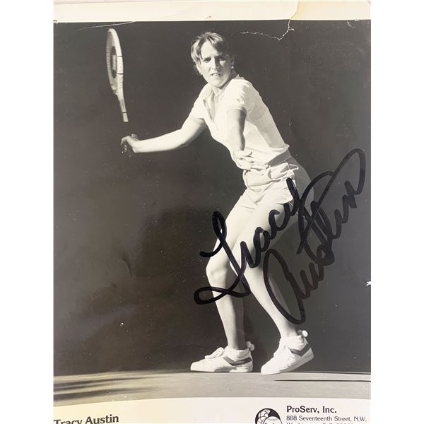 Tracy Austin signed photo