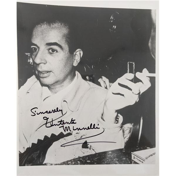 Vincente Minnelli Signed Photo