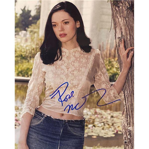 Rose McGowan signed photo