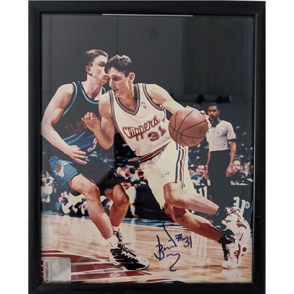 Brent Barry Signed Photo