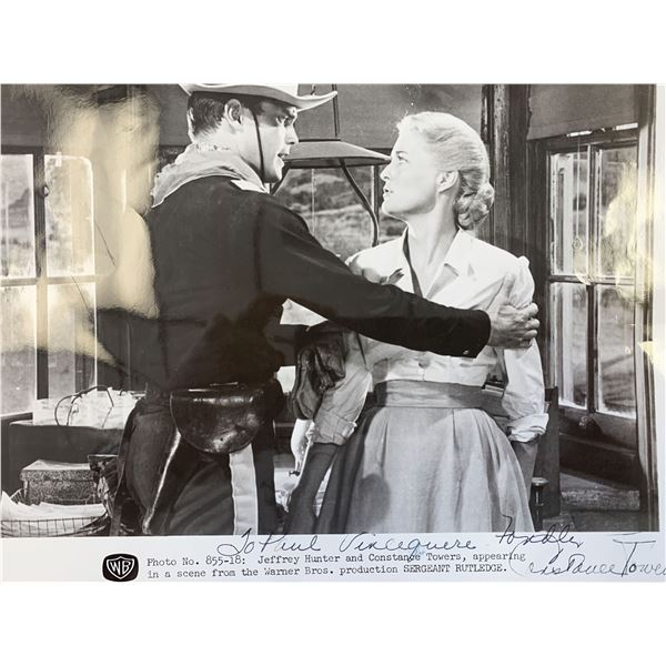 Constance Towers signed photo