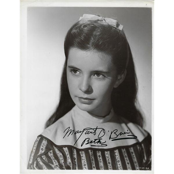 Margaret O'Brien Signed Photo
