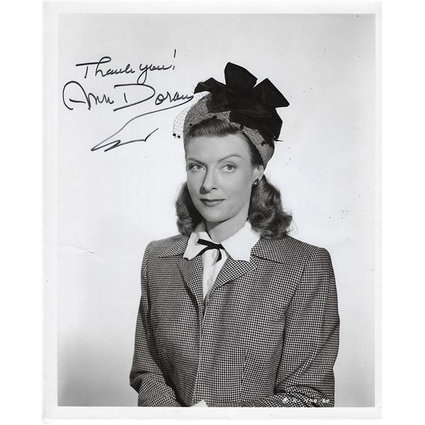 Ann Doran Signed Photo