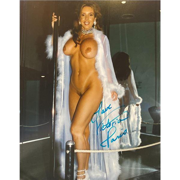 Victoria Paris Signed Photo