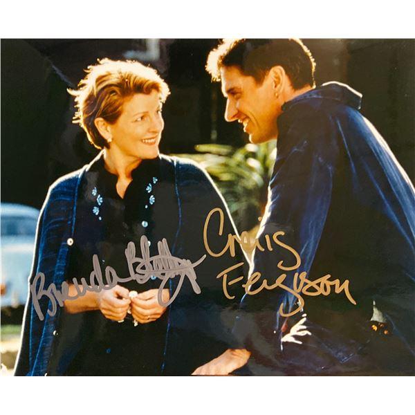 Saving Grace Brenda Blethyn and Craig Ferguson signed movie photo