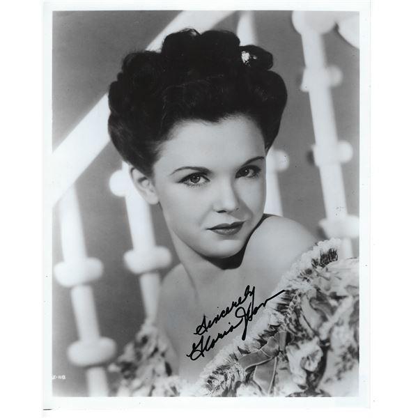 Gloria Jean Signed Photo