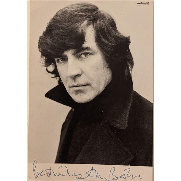 Alan Bates Signed Photo