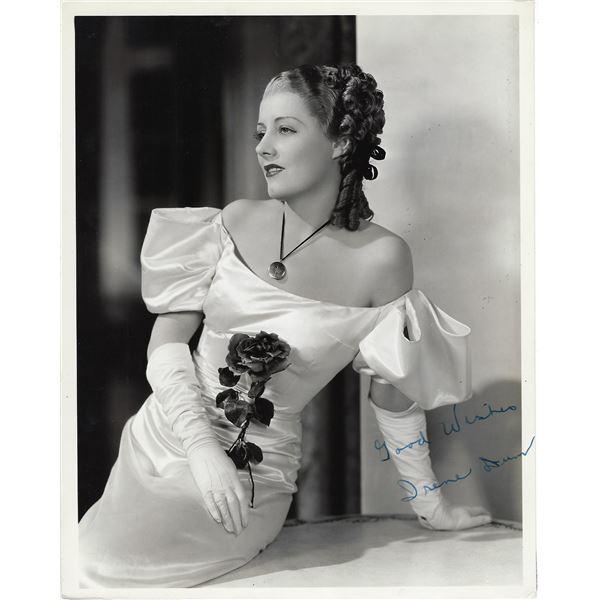 Irene Dunne Signed Photo
