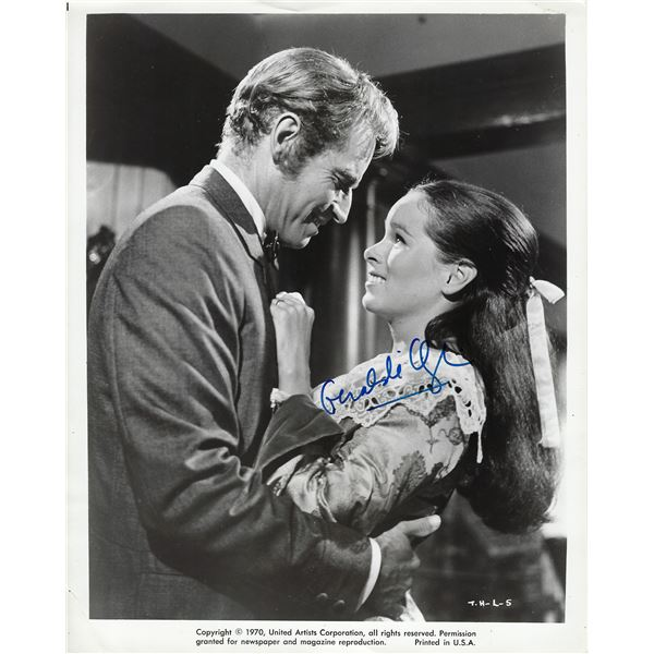 Geraldine Chaplin Signed Photo